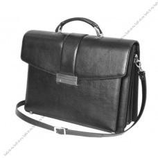 Солидный кожаный портфель