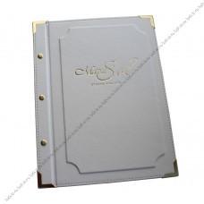 Белая папка для салона красоты